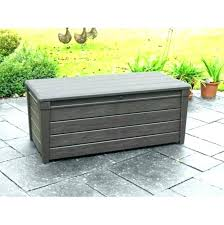 plastic garden storage boxes homebase large box bin for outdoor cushions cushion units metal sheds out