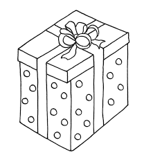 Big Christmas Presents Coloring Page