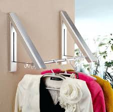 wall mounted clothes drying rack bathroom shelves metal chrome wall mounted clothes drying hanger laundry rack
