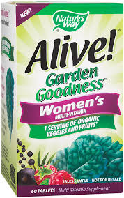 women s multi vitamin garden goodness