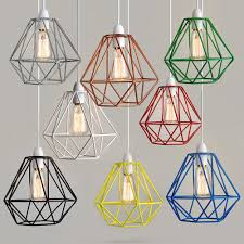 wire frame non electric pendant shades these contemporary