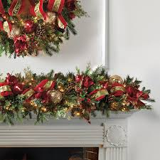 christmas decorated garland ideas | Related For Decorated Christmas Garland