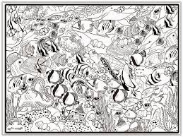 Small Picture Ocean Coloring Pages For Adults For glumme