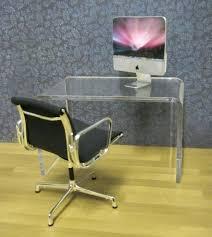 clear office desk. Acrylic Computer Desks Clear Office Desk Minimalist E Home Design Ideas Philippines . N