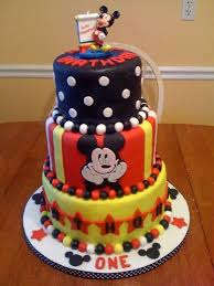 Mickey Mouse Birthday Cakes Fomanda Gasa