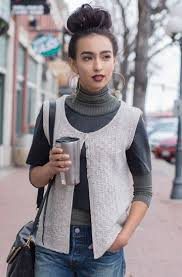 Knit Patterns For Vests In One Piece