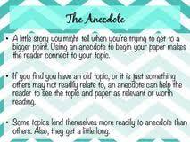 anecdote essay examples college essay attention grabbers book anecdote essay examples