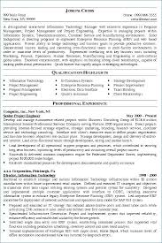 Project Manager Resume Samples Luxury It Project Manager Resume