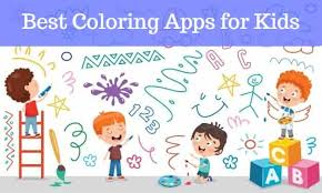 Have fun with the best coloring pages : Best Coloring Apps For Kids Educational App Store