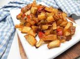 best ever quick and easy spicy breakfast potatoes