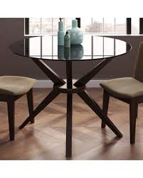 cidy dining table base finish coffee