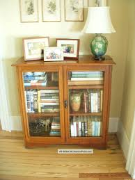 glass door bookshelf india designs