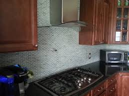 beautiful glass mosaic tile backsplash painting with small home interior ideas with glass mosaic tile backsplash