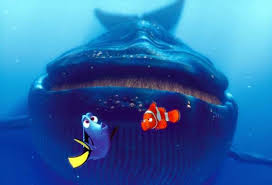 movie review finding nemo ny daily news dory l and marlin meet up a blue whale in finding