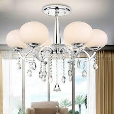 modern elegant crystal chandelier ceiling fixture lighting 6 light intended for modern elegant chandelier