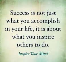Motivational Quotes Success Means Inspiring Others The Sykes Simple Quotes About Inspiring Others