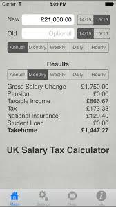 Uk Salary Calculator 2019 20 By James Still Ios United