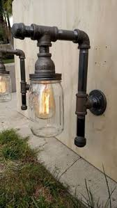 industrial pipe lighting. pipe outdoor fixtures 2 lighting with by vintagepipecreations industrial 1