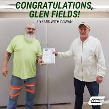 "Cowan Systems, LLC on Twitter: ""Please join us in congratulating our  Bowling Green driver Glen Fields for reaching 5 years with Cowan! Thank you  for all of the hard work and dedication"