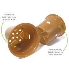 garden seed. SelfEco Compostable Seed Starter Pots - 4\ Garden