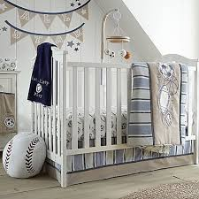 sports in the little sport crib bedding