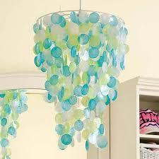 capiz shell chandelier home depot