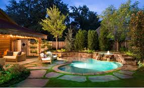 Backyard With Pool Impressive With Picture Of Backyard With Interior New In  Ideas
