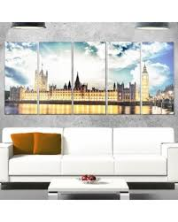 designart big ben and house of parliament extra large cityscape glossy metal wall art on big ben metal wall art with sweet deal on designart big ben and house of parliament extra