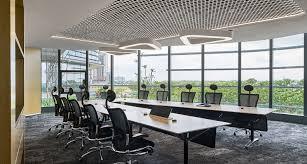 unilever office. Aedas, Unilever HQ, Office Building, Jakarta, Indonesia, Green Architecture, Aluminium F
