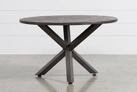 tortuga round outdoor dining table  living spaces