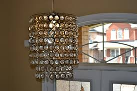 image of foyer light fixtures crystal