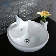 decoraport white round ceramic above counter vessel sink cl 1042 decoraport white round ceramic above counter vessel sink cl 1042