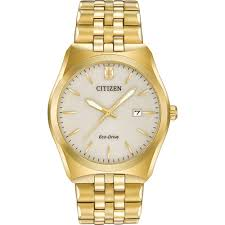 citizen men s gold tone corso eco drive watch bm7332 53p citizen watches citizen men s gold tone corso eco drive watch bm7332
