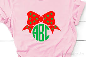 ✓ free for commercial use ✓ high quality images. Christmas Bow Svg Christmas Monogram Svg Girl Christmas 336488 Svgs Design Bundles