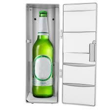Tủ lạnh mini có cổng cắm USB dễ dàng dịch chuyển có thể dùng trong gia đình  văn phòng xe hơi thuyền (kích thước 12.5*8.3*24.8cm) - INTL