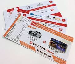 Raffle Tickets Printing Raffle Ticket Printing Perth Custom Raffle Tickets G Force G