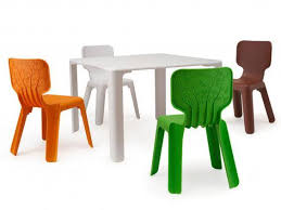table and chairs for toddlers. magis linus table and two alma chairs: £270, nest.co.uk chairs for toddlers