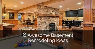 Unique Basement Ideas Plans