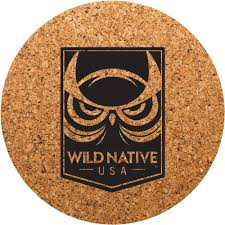 Custom cork coasters Wedding Favors Tan Round Cork Coasters For Your School Quality Logo Products Promotional Round Cork Coasters With Custom Logo For 084 Ea