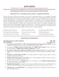 regional sales manager resume - Professional Sales Resume Examples