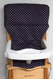 high chair cover older style ed bauer replacement high chair pad black with shiny silver dots by sewingsillysister on