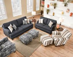 living room mattress: omega denim collection with casual flair contemporary living room