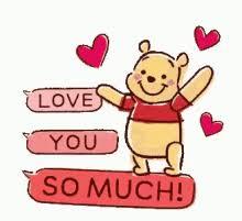 winnie the pooh ilove you gif winniethepooh iloveyou gifs