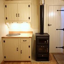 wood stove for tiny house. Wood Stove With A Baking Oven In Tiny House For