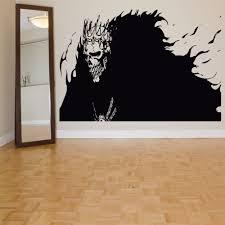 Skull Wallpaper For Bedroom High Quality Skeleton Wall Decals Buy Cheap Skeleton Wall Decals