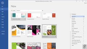 How To Make Your Own Brochure On Microsoft Word How To Make A Brochure In Microsoft Word 2016