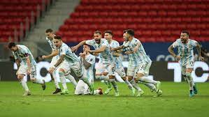 Argentina-Colombia Copa America score ...