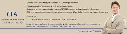 Cfa Designation Description Explore Cfa Excellence Training