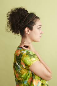 Embellished Messy Bun | Naturally Curly Hair | Awesome Hairstyles ...