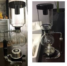 Design and composition of the vacuum coffee maker varies. Japanese Style Siphon Coffee Maker Tea Siphon Natsuku